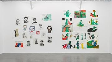 Contemporary art exhibition, Raymond Pettibon, Frenchette at David Zwirner, Paris