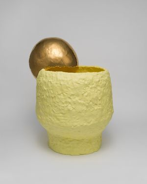 Tea bowl by Takuro Kuwata contemporary artwork