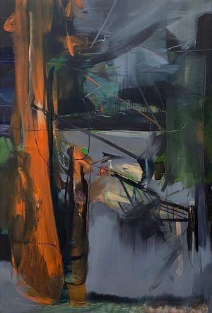 Night Walk by Koo Jiyoon contemporary artwork