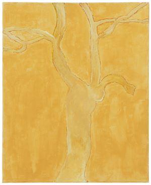 Riviera tree by Mayo Thompson contemporary artwork