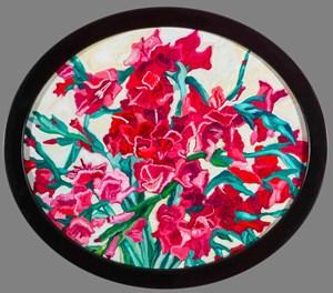 Gladiolus II 劍蘭II by Lu Hao-Yuan contemporary artwork