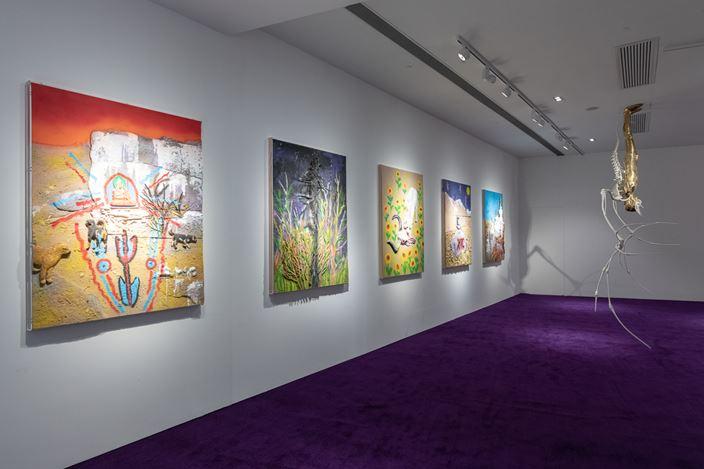 Exhibition view: Chen Tianzhuo,Recollection Pierces the Heart, Tang Contemporary Art, Hong Kong (20 August–27 September 2020). Courtesy Tang Contemporary Art, Hong Kong.