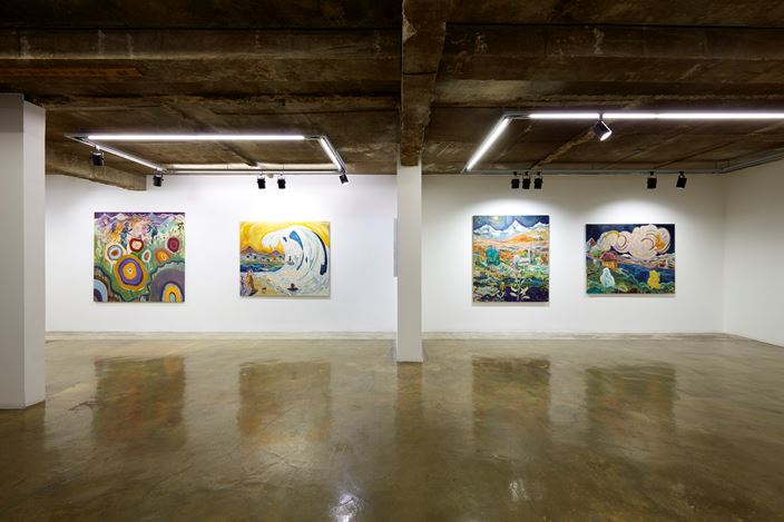 Exhibition view: Pierre Knop, Tetrachromatic Visions, Choi & Lager Gallery, Seoul (10 December 2020–10 February 2021). Courtesy Choi&Lager Gallery.