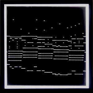 systematics [n˚4-2] by Ryoji Ikeda contemporary artwork