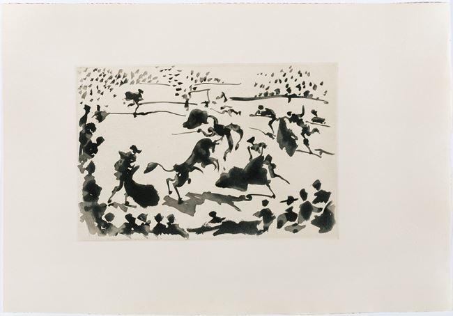 La Cogida [The Tossing] by Pablo Picasso contemporary artwork