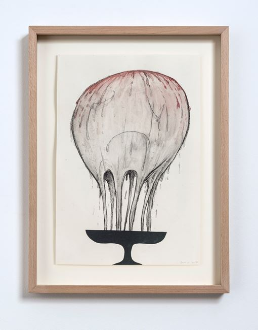 Dark Collage (No.1) by Judith Egger contemporary artwork