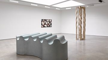 Contemporary art exhibition, Richard Deacon, Deep State at Lisson Gallery, Lisson Street, London