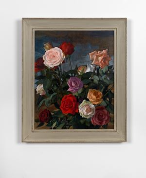 Rosebush by John Currin contemporary artwork