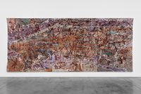 Very Large Very Expensive Abstract Painting by Grayson Perry contemporary artwork textile