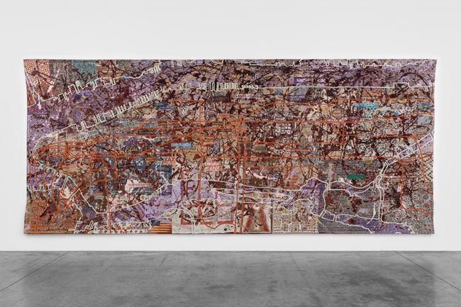 Very Large Very Expensive Abstract Painting by Grayson Perry contemporary artwork