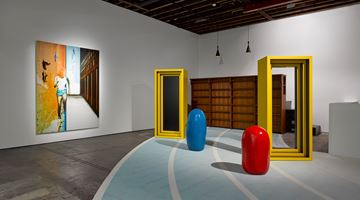 Contemporary art exhibition, John Kørner, Life in a Box at Victoria Miro, Wharf Road, London