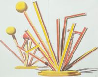 Untitled by Alexandre Arrechea contemporary artwork works on paper