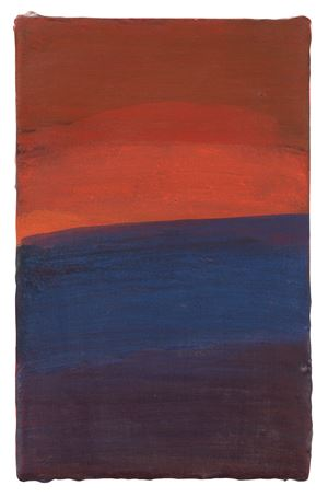 Soleil couchant by Christine Safa contemporary artwork