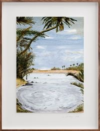 Postcards from Africa: Amusement in the South by Sue Williamson contemporary artwork works on paper