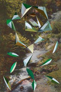 Wairakei Stream, Smithson / Matta-Clark by Kate Woods contemporary artwork photography, print
