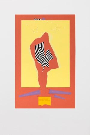 Ricostruzione teorica di un oggetto immaginario 3 by Bruno Munari contemporary artwork