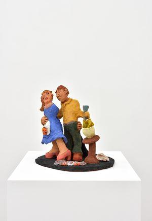 Couple by Sally Saul contemporary artwork