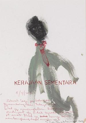 Karajaan Sementara (11 April 2013) /Intermediary by Shooshie Sulaiman contemporary artwork