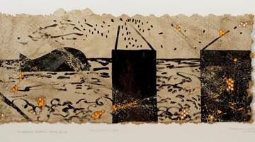 Contemporary art exhibition, Derek Cowie, COW WEE HAZCHEM at Page Galleries, Wellington