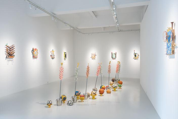 Exhibition view: Khairullah Rahim, Gathering of Flocks, Yavuz Gallery, Singapore(28 March–16 April 2020). Courtesy the artist and Yavuz Gallery.