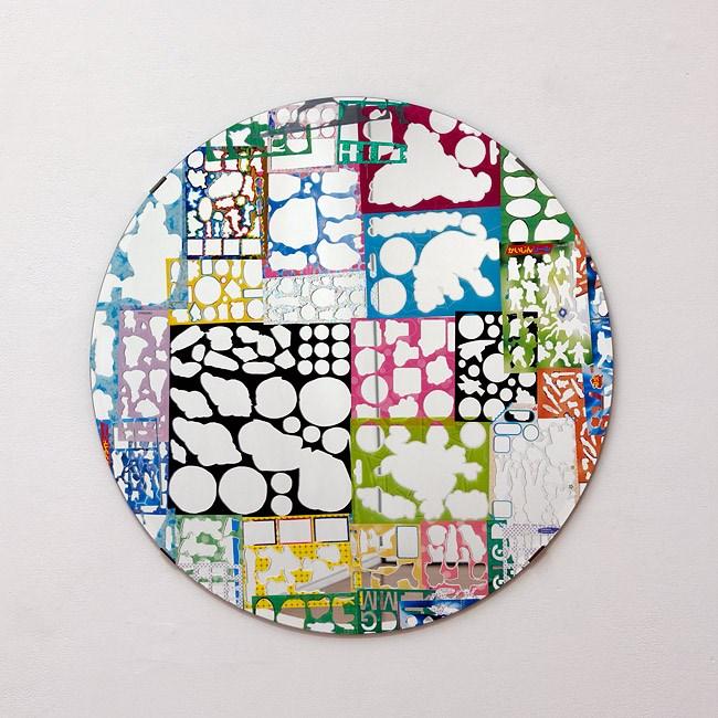 Ghost Buildings (Mirror #1) by Teppei Kaneuji contemporary artwork