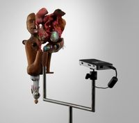 Reductio ad Absurdum by Tony Oursler contemporary artwork sculpture, mixed media