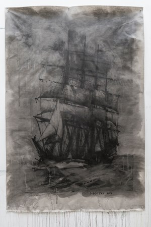 Tall Ship II by Mikhael Subotzky contemporary artwork