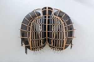 Mono Human Being_Rattan Coffin That Matter by Nindityo Adipurnomo contemporary artwork