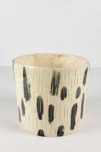 Untitled Large Planter 16 by Rashid Johnson contemporary artwork ceramics