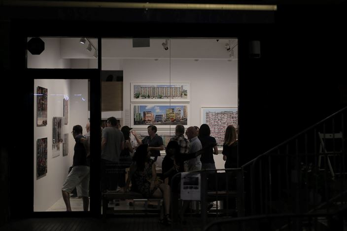 Exhibition view: Alexis Ip & Stefan Irvine, RECONSTRUCT, Blue Lotus Gallery, Hong Kong (9 August–15 September 2019). Courtesy Blue Lotus Gallery.