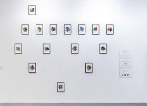 Stammbaum oder die Platanenlehre by Ludwig Gosewitz contemporary artwork painting, works on paper