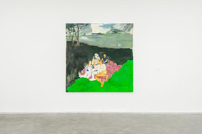 Exhibition view: Zhu Jia, Recent Paintings, ShanghART, Westbund, Shanghai (5 September–18 October 2020). Courtesy ShanghART, Westbund, Shanghai.