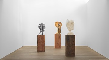 Contemporary art exhibition, Thomas Houseago, Constructions at Xavier Hufkens, Brussels