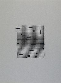 Retículas II by Johanna Calle contemporary artwork mixed media