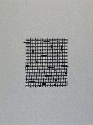 Retículas II by Johanna Calle contemporary artwork