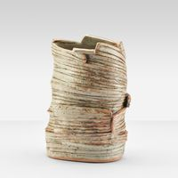 Constructed Container by Heidi Kippenberg contemporary artwork sculpture, ceramics