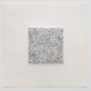 Grey square 01 (Blue) by Lars Christensen contemporary artwork