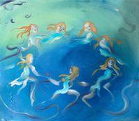 Fairy Dance by Sophie von Hellermann contemporary artwork painting