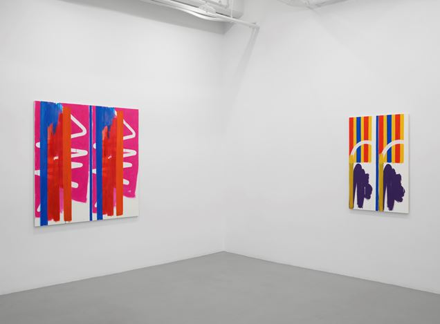 Installation view of Bernard Piffaretti at Lisson Gallery, New York, 13 September - 19 October 2019. Courtesy Lisson Gallery.
