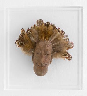 Monsieur Plume by Patricia Dreyfus contemporary artwork