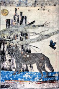 Cathedral by Kiki Smith contemporary artwork textile
