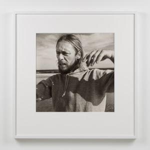Paul Thek (In Hooded Sweatshirt) by Peter Hujar contemporary artwork