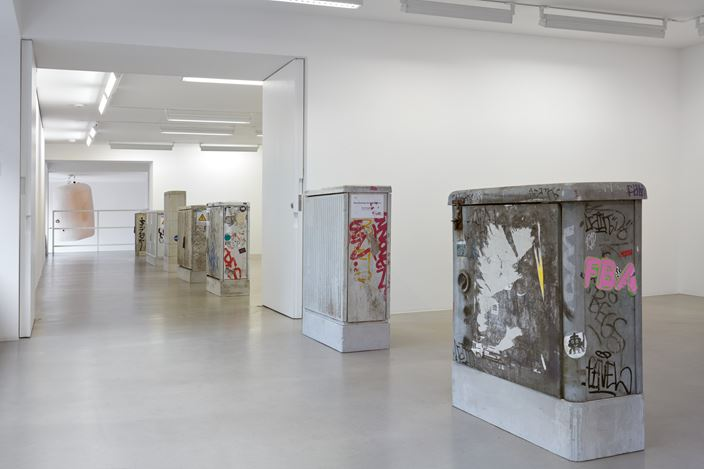 Exhibition view: Klara Liden, Turn Me On, Sadie Coles HQ, Davies Street, London (3 September–24 October 2020). © Klara Liden. Courtesy Sadie Coles HQ, London.Photo: Robert Glowacki.