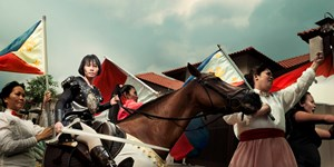 Maid In Malaysia(Joan of Arc) by Wong Hoy Cheong contemporary artwork
