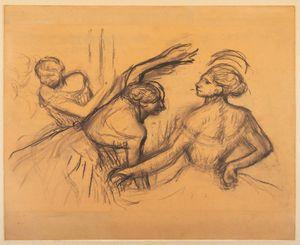 Scène de ballet by Edgar Degas contemporary artwork
