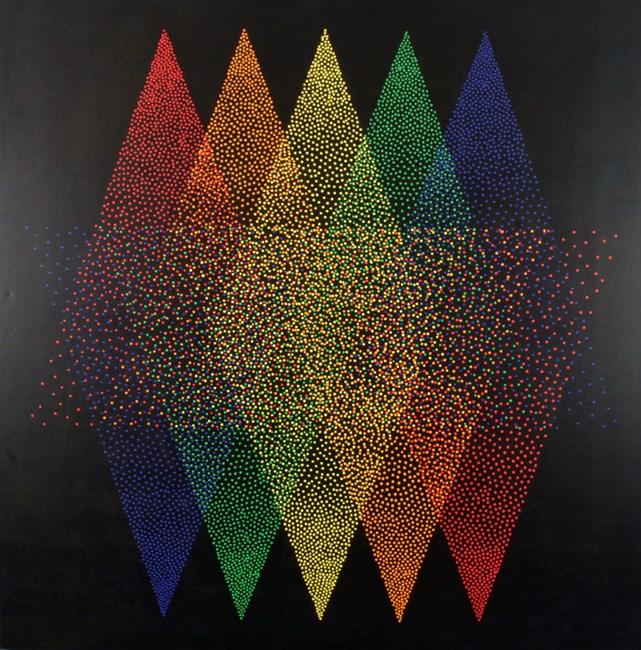 Alchimie 366 by Julio Le Parc contemporary artwork