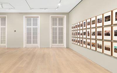 Exhibition view: Sherrie Levine, Pie Town, David Zwirner, London (4 October–18 November 2017). Courtesy David Zwirner, New York/London.