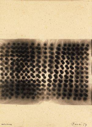 Rauchzeichnung by Otto Piene contemporary artwork