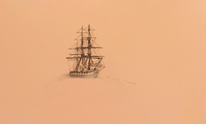 Untitled Lost Ship (f.f.) by Whitney Bedford contemporary artwork