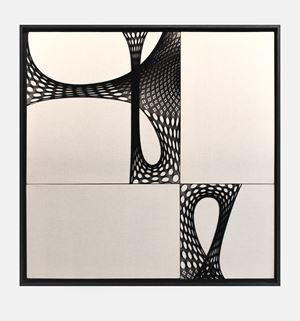 Origin of a Star by Martin Soto Climent contemporary artwork mixed media, textile